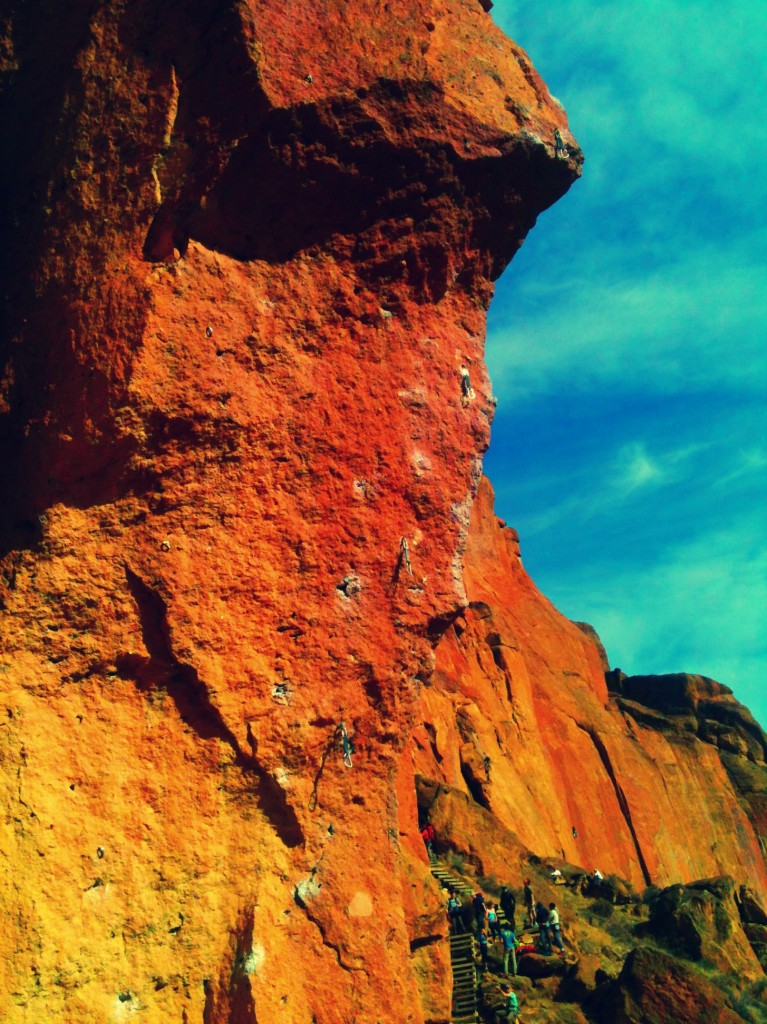 zen of moving body, smith rock