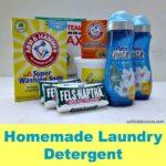 Homemade Laundry Detergent Forever