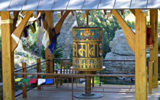 The Dalai Lama Gave Us a Prayer Wheel