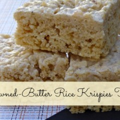 Browned Butter Krispy Treats
