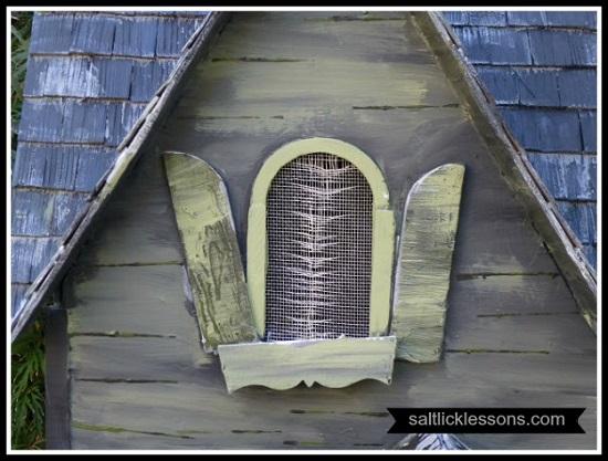 Haunted Halloween Dollhouse Window