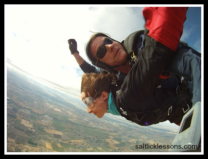 Skydiving Pulls Your Skin