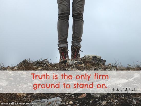真実であることの重要性