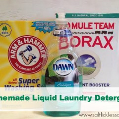 DIY Liquid Laundry Detergent