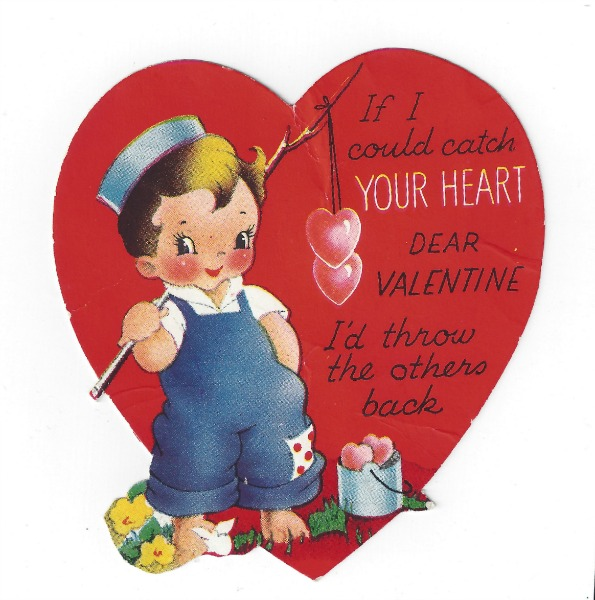vintage valentine - catch your heart