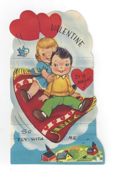 vintage valentine magic