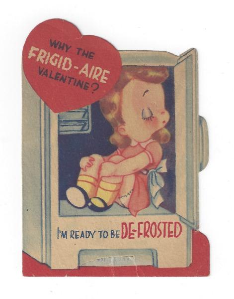 vintage valentine frigid air