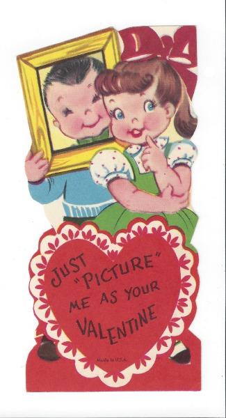 vintage valentine, picture me