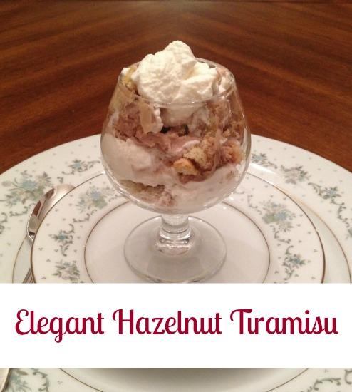 Elegant Hazelnut Tiramisu