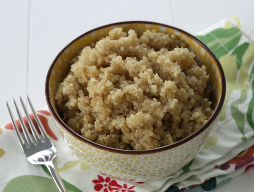 Basic Quinoa from Brittany's Pantry.com, weekly food prep