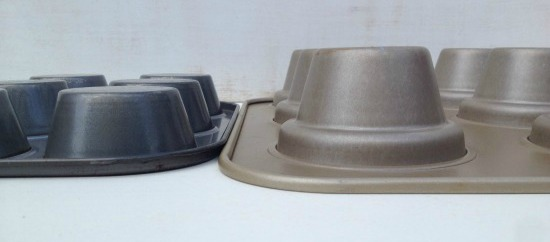 standard and jumbo cupcake pans