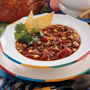 Taco Soup from Taste of Home.com, weekly food prep
