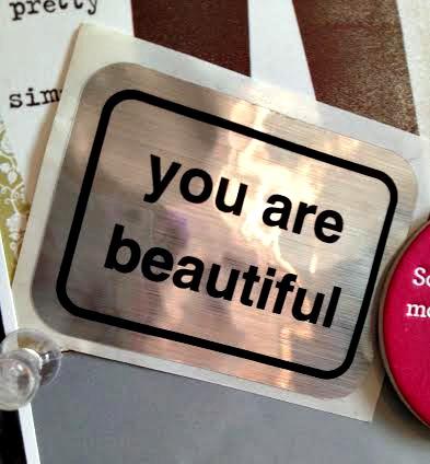 positive self talk, you are beautiful
