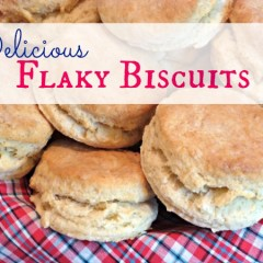 Flaky Buttermilk Biscuits