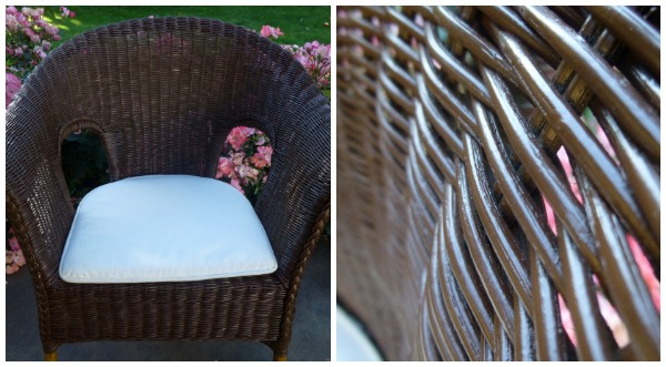 Painted Wicker Chair DIY Project