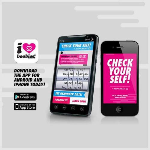 Check Your Boobies App