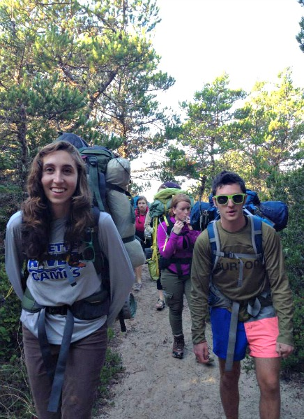 Backpacking in a Group