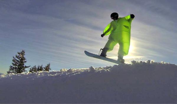 Fat Suit Snowboarding