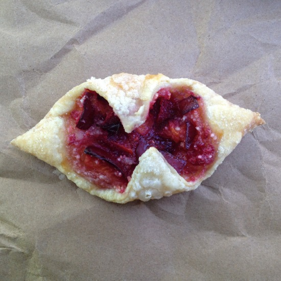 Open Open Plum Hand Pie