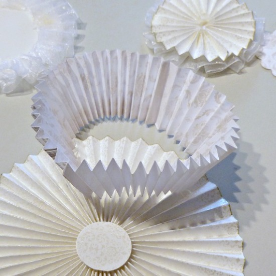 Paper Rosette Layers
