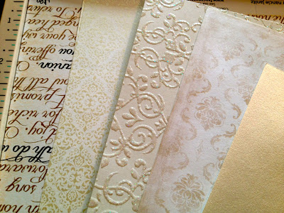 Wedding Paper for Rosette Project