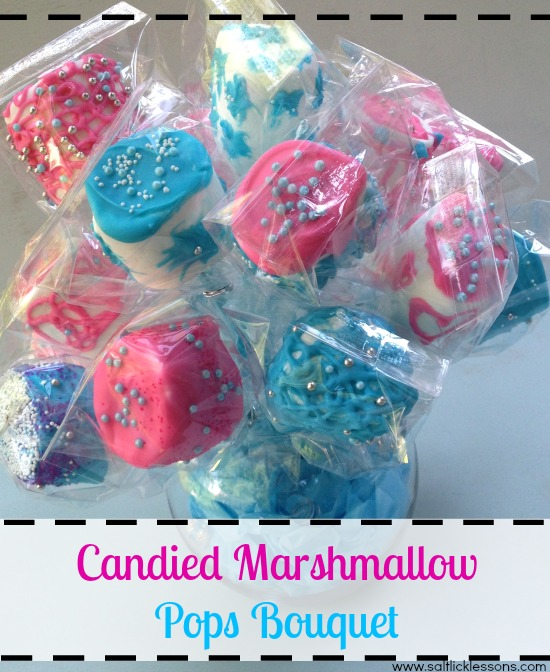 Candied Marshmallow Pops Bouquet