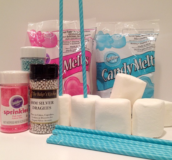 Marshmallow Bouquet Ingredients