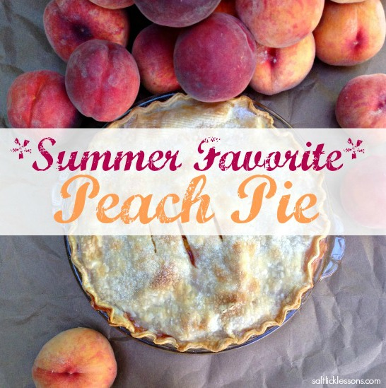 Favorite Peach Pie