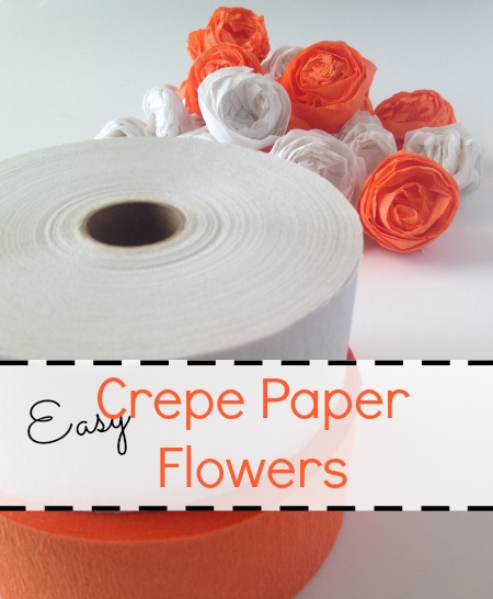 Easy Crepe Paper Flowers