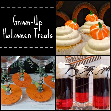 Grown-Up Halloween Treats