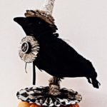 Dressed Up Halloween Crow