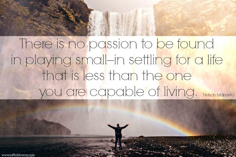 Sunday Sentiment {11- the one from Nelson Mandela}