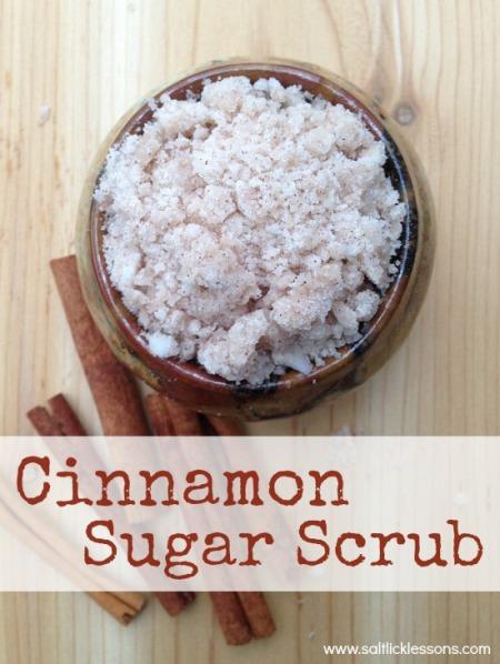 Cinnamon Sugar Scrub