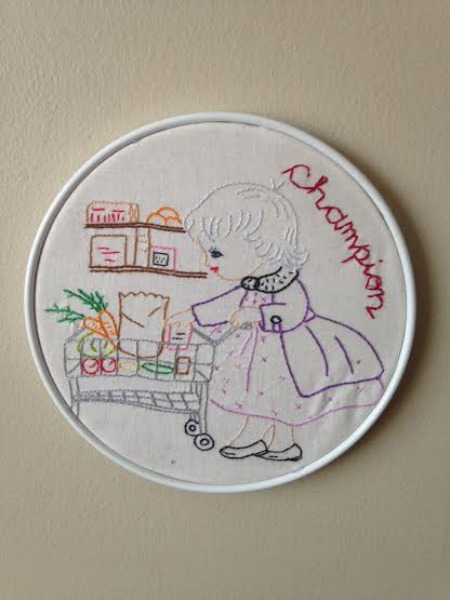 Boise Wintry Market Champion Embroidery