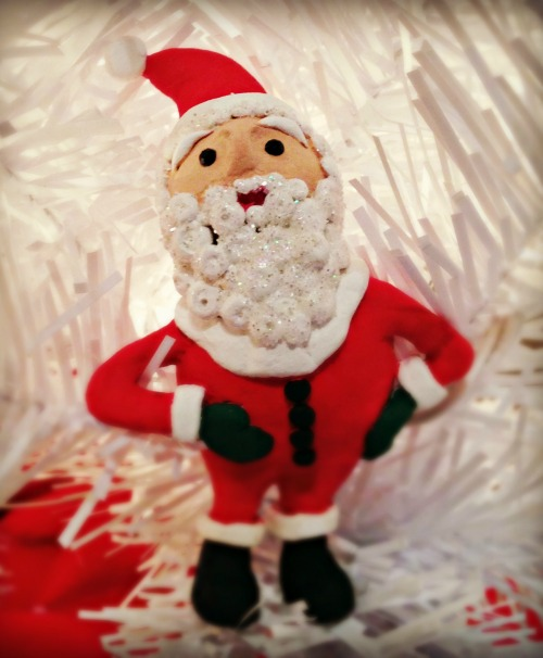 Santa made with Creative Paperclay