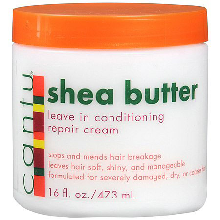 Cantu Shea Butter Leave in Conditioner, all natural product
