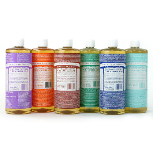 Dr. Bronner's Castille Soap, All Natural Products