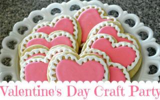 Valentines Day Craft Party Fun!