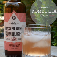 Grapefruit Kombucha Cocktail