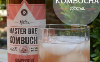 Grapefruit Kombucha Cocktail