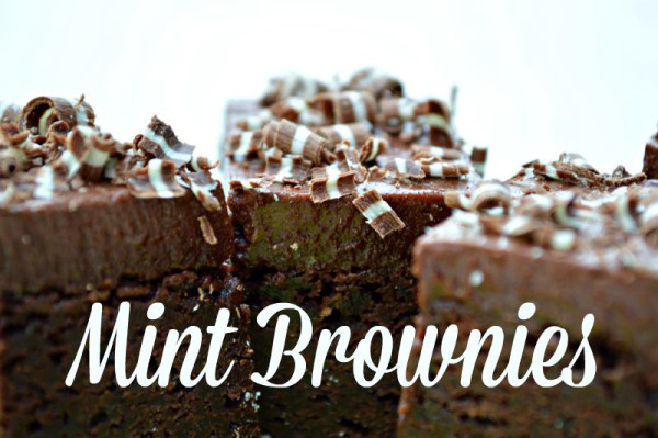 Andes Chocolate Mint Brownies