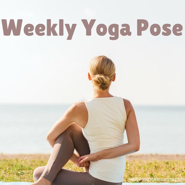 weekly yoga pose / www.saltlicklessons.com