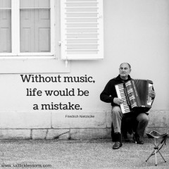 Sunday Sentiment {29 – the one about life without music}