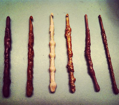 harry pottery crochet hooks