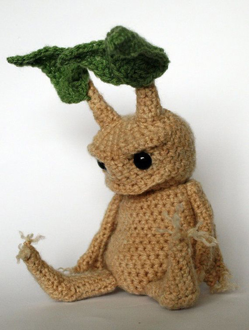 Harry Potter Mandrake, harry potter mandrake crochet pattern