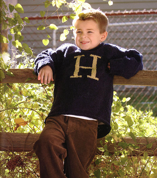 Knitting Pattern For Weasley Sweater : Harry Potter Knits (and Crochets) - Salt Lick Lessons