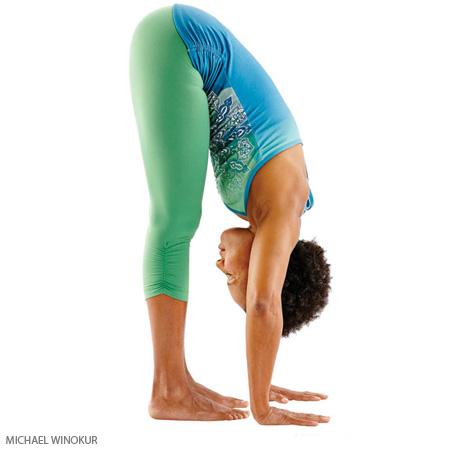 yoga, yoga pose, standing forward bend