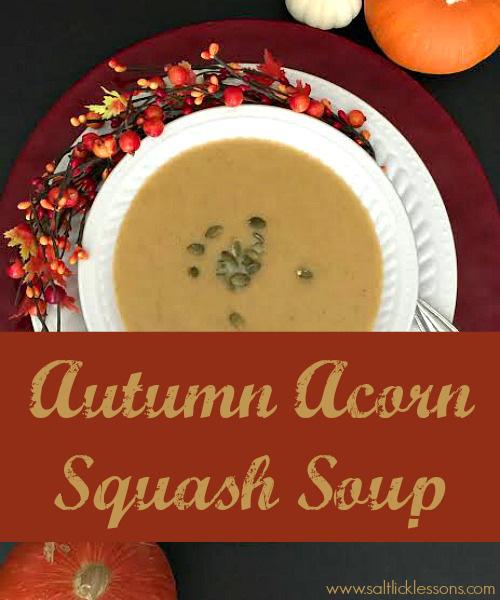Elegant Acorn Squash Soup