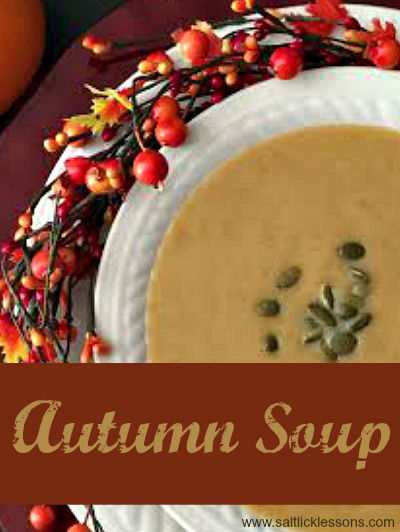 delicious autumn soup
