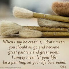 Sunday Sentiment {38 – the one about let your life be a poem}